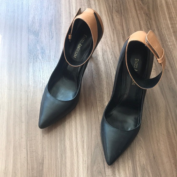 Leather heels size 8.5